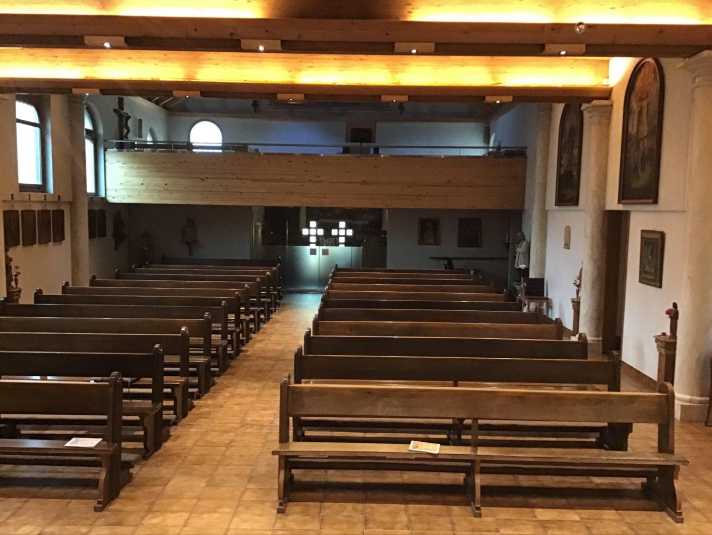 Chapelle avant rénovation